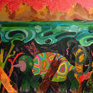 Paysage 4 - Série du Livre des Montagnes et des Mers