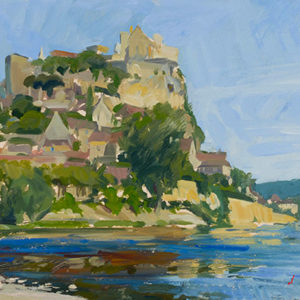 Beynac from the Dordogne