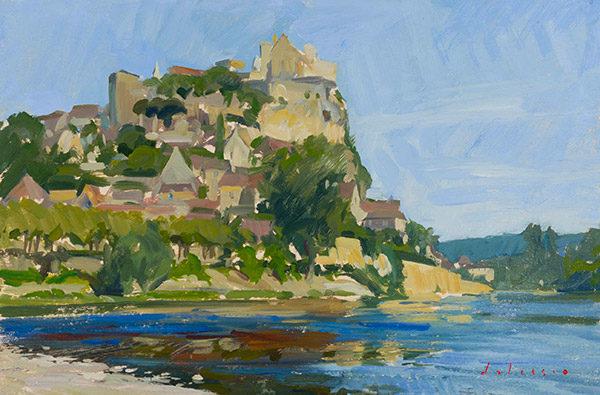 Beynac from the Dordogne