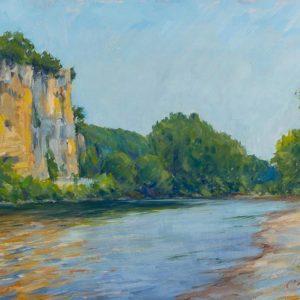 Cliffs on the Dordogne - Virac