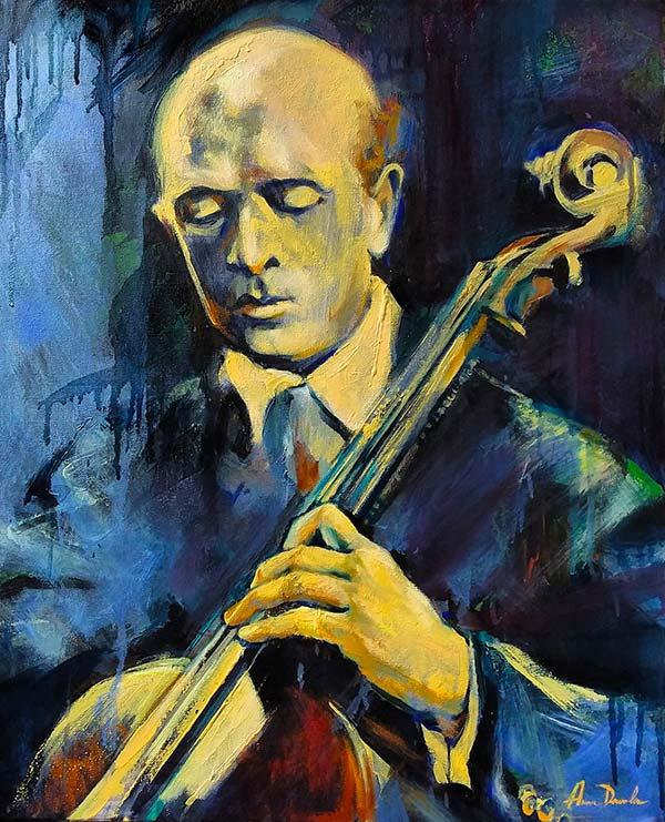 Portrait de Pablo Casals