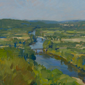 The Dordogne from Domme