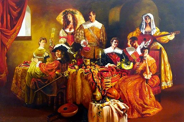 Invités chez Rembrandt