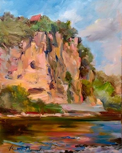 Le rocher de Vitrac