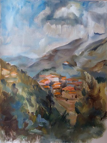 L'orage dans les Pyrénées étude