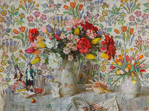 Fleurs parfum jours de printemps
